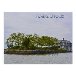 Cartão da ilha do dedal