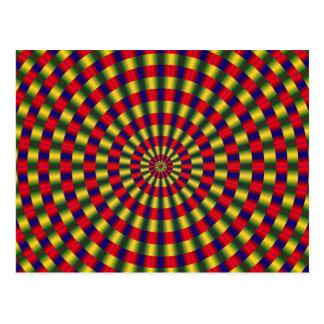 Cartão da ilusão óptica 1