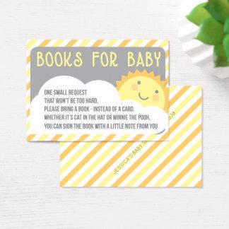 Cartão da inserção do pedido do livro - traga um