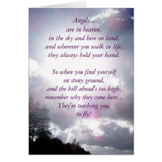 cartão da inspiração