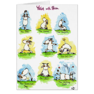 Cartão da IOGA por Nicole Janes