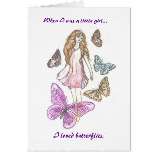 Cartão da irmã de Lupie