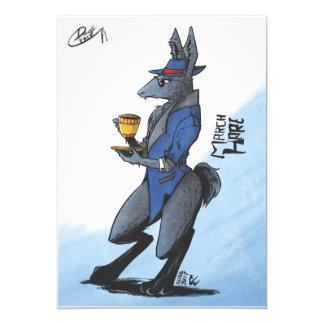 Cartão da lebre de março