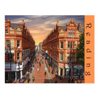 Cartão da leitura - vista da rua da rainha