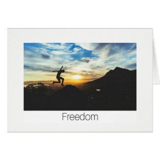 Cartão da liberdade