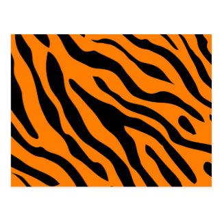 Cartão da listra do tigre