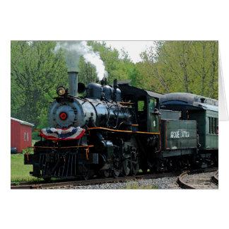 Cartão da locomotiva 18