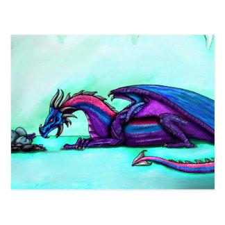 Cartão da mãe do dragão