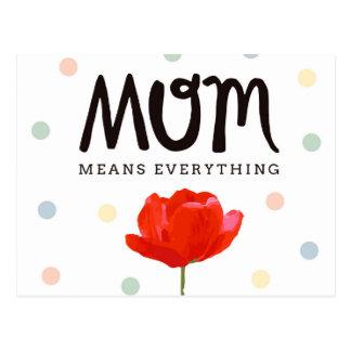 Cartão da MAMÃ