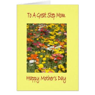 Cartão da mamã da etapa do dia da mãe