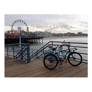 Cartão da manhã de Santa Monica!