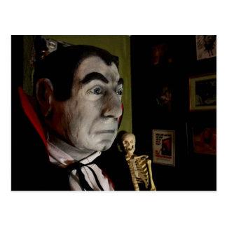 Cartão da máscara de Bela Lugosi