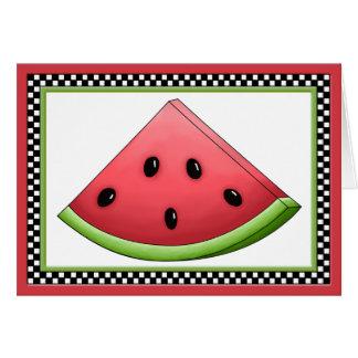 Cartão da melancia