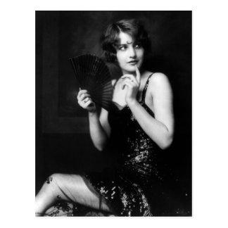 Cartão da menina dos insensatez de Ziegfeld