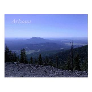 Cartão da montanha da arizona