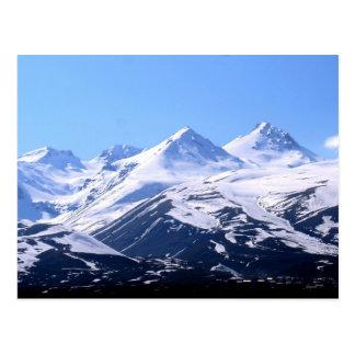 Cartão da montanha de Ararat