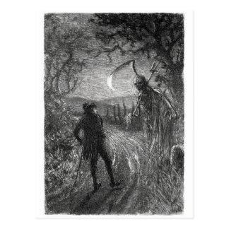Cartão da morte e do Dr. Hornbook