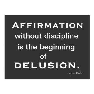 Cartão da motivação e da inspiração