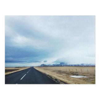 Cartão da movimentação de Islândia