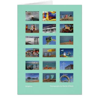 Cartão da multi-imagem de Brigghton