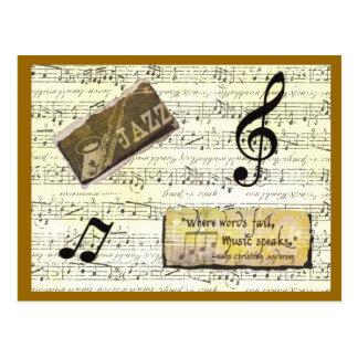 Cartão da música