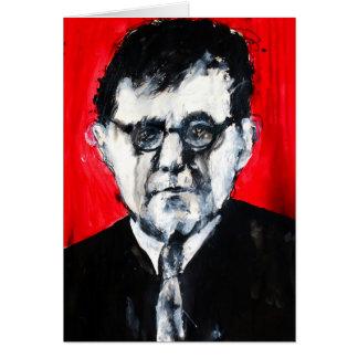 Cartão da música clássica - Shostakovich