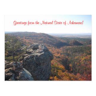 Cartão da natureza de Arkansas