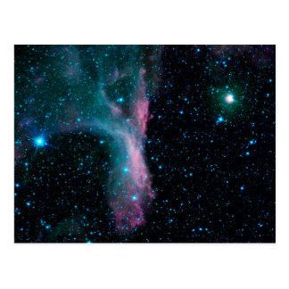 Cartão da nebulosa DG129 (Scorpius)