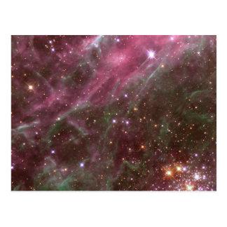Cartão da nebulosa do Tarantula