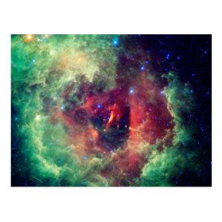 Cartão da nebulosa NGC2237 Cartão Postal