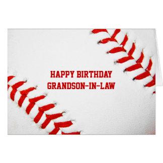 Cartão da Neto-Em-Lei do feliz aniversario do base