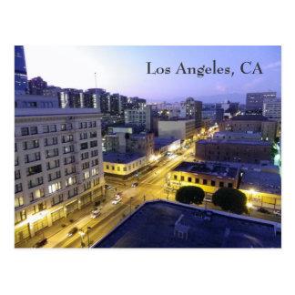 Cartão da noite de Los Angeles!