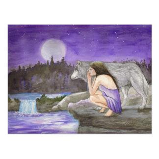 cartão da noite estrelado por Lori Karels