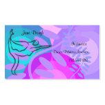Cartão da nomeação da dança de Pilates da dança Cartões De Visitas