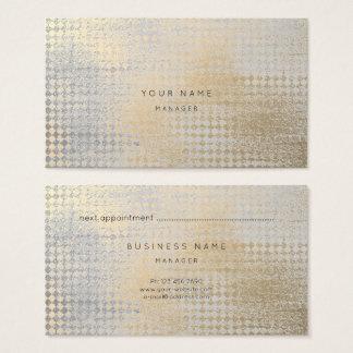 Cartão da nomeação do corte do diamante das cinzas
