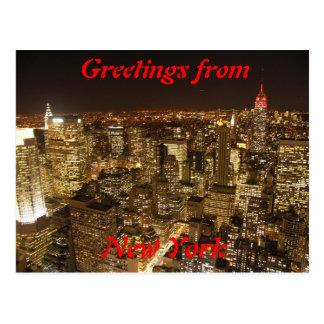 Cartão da Nova Iorque