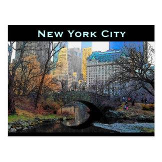 Cartão da Nova Iorque Cartão Postal