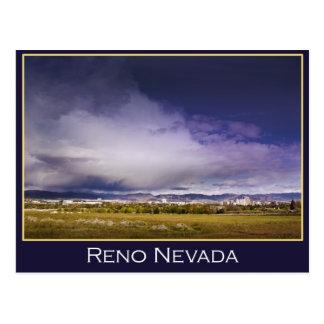 Cartão da nuvem do poder de Reno