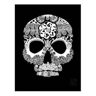 Cartão da obscuridade de Bella Muerte do La