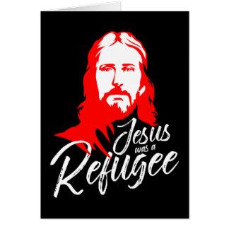 Cartão da obscuridade de Jesus