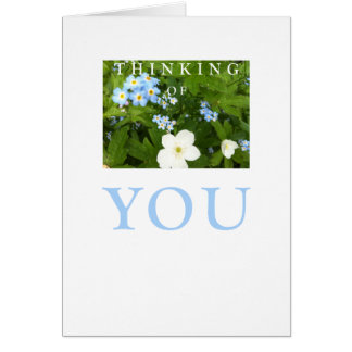 Cartão da ocasião: Pensamento de você