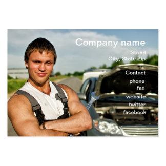 Cartão da oficina de reparações do automóvel cartão de visita grande