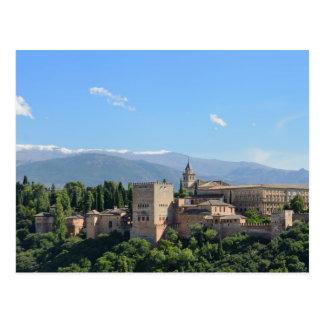 Cartão da opinião de Alhambra