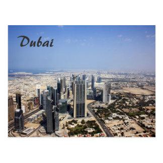 Cartão da opinião de Dubai
