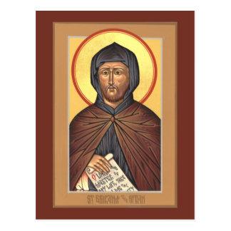 Cartão da oração da oração do St. Ephraim