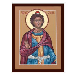 Cartão da oração de Daniel do profeta