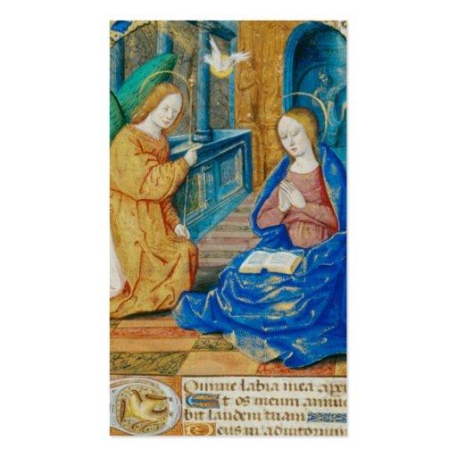 Cartão da oração de Mary da saraiva Cartoes De Visitas