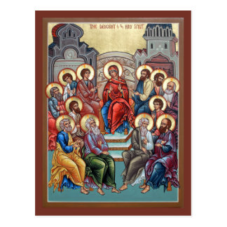 Cartão da oração de Pentecost Cartão Postal