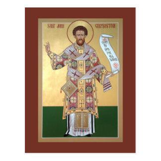 Cartão da oração de St John Chrysostom