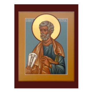 Cartão da oração de St Peter